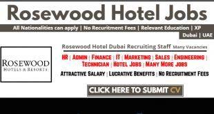 Rosewood Careers Abu Dhabi